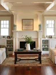 inspiration for a beach style living room remodel in philadelphia with beige walls and a standard