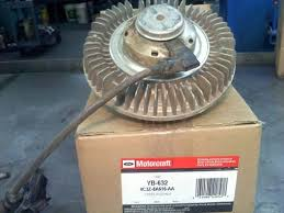 powerstroke fan clutch causes engine no start medium duty work powerstroke fan cluth
