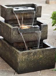 15 gorgeous patio fountain ideas
