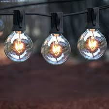 bulb outdoor string lights concepts warm white globe ireland