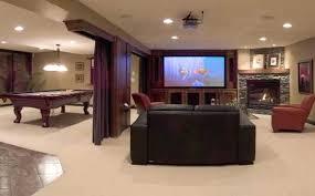 Living Room Basement Media Room Ideas Man Cave Media Room Large Size