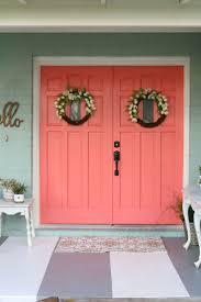 Coral Front Door Best 25 Bright Front Doors Ideas On Pinterest Colored Front