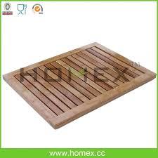 wooden bath mat wood shower whole suppliers wooden bath mat