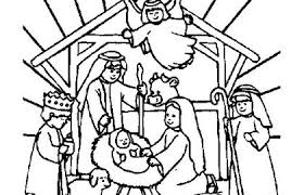 Free Christmas Coloring Pages Christian Beautiful Christian