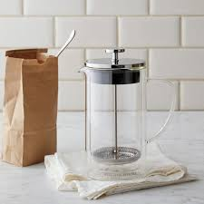 williams sonoma double wall glass french press