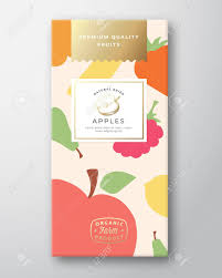 Fruit Box Packaging Design Dried Fruits Label Packaging Design Layout Abstract Vector Paper