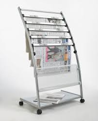 Newspaper rack for office Brochure Moveble Newspaper Display Rack For Office Yueqing Yijia Display Co Ltd China Moveble Newspaper Display Rack For Office China Newspaper