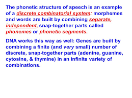 Speech Example Classy Speech Dynamics The Main Idea At An Abstract Linguistic Level