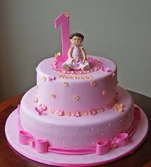 First Birthday Cake Design For Baby Girl Google Search Number 1