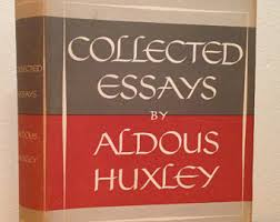 aldous huxley  collected essays by aldous huxley vintage 1950s hardcover book