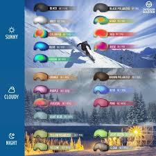 Ski Goggles Pro Replacement Lens Anti Fog Snow Goggles 20