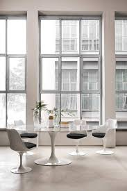 styles of furniture design. 1970s Furniture Design: Modern Sleek Dining Room With White Tulip Chairs | NONAGON.style Styles Of Design A