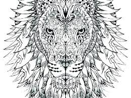 Difficult Printable Coloring Pages Hard Animal Free Color By Number
