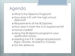 agenda what is the diploma program ppt video online  agenda what is the diploma program