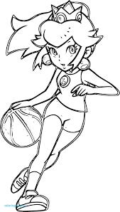 Coloriage Basketball Fresh Coloriage De Mario Et Peach Download