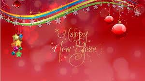 Happy New Year Card Wallpaper Freechristmaswallpapers Net