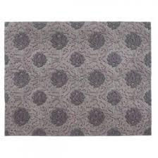 damask hand tufted purple pink wool rug 240 x 300 cm