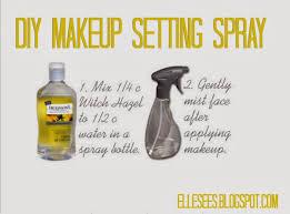 homemade makeup setting spray for oily skin elle sees beauty ger in atlanta