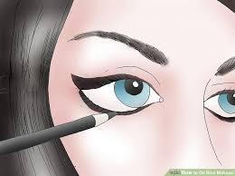image led do emo makeup step 5