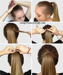 Hairstyle Easy Step By Step 42 easy hairstyles for girls simple step by step pictures 1229 by stevesalt.us