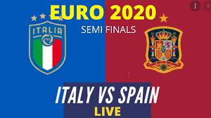 LIVE Italy vs. Spain: Euro 2021 Live ...