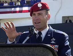 United States military beret flash