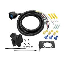 tow ready universal uscar 7 way pigtail wiring harness partsengine ca