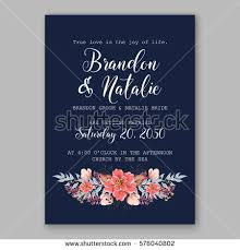 wedding invitation card tropical poinsettia peony stock vector Wedding Invitation Postcard Vector wedding invitation card with tropical poinsettia peony floral background greeting postcard vector elegance pattern with vector and psd - wedding invitation postcard