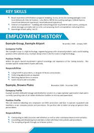Enchanting Offshore Industry Cv Templates Image Collection