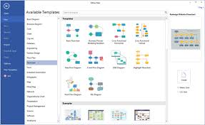 Flow Chart Generator Free Download Visio Like Software More Templates And Examples Free Download
