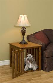 dog crates furniture style. amish mission dog crate end table crates furniture style d