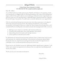 Cover Letter Accounting Clerk Internship Cover Letter Accounting Puentesenelaire Cover Letter