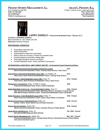 Coaching Resume Template Coaching Cover Letter Resume Templates Soccer Coach Basketball 19