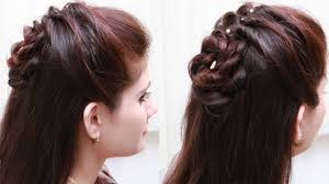 Beautiful Hair Style Of College Girls Easy Hair Style For