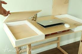 build your own office desk. desktop with storage compartments buildyourowndesk collection build your own office desk