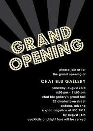 Grand Opening Invite Invites Grand Opening Invitations Grand