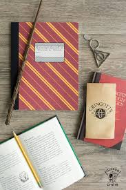 is your family harry potter obsessed these notebooks are so easy to make with a