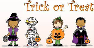 Image result for trick or treat images