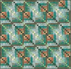 17 best Quilts from Elisa's Backporch Design images on Pinterest ... & Quilt Pattern   FREE Pattern - Bali Kaleidoscope Quilt by Elisa Wilson for  Hoffman . Adamdwight.com