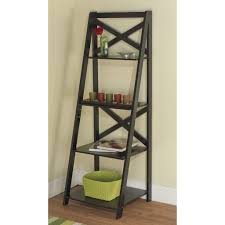 Wooden Ladder Display Stand Shelf Shelf Remarkable Ladder With Drawers Image Ideas Coaster 42
