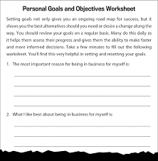 steps to starting a small business personal goals and objectives worksheet infographic