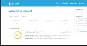 Your job search stats; Saved resume versions and job descriptions