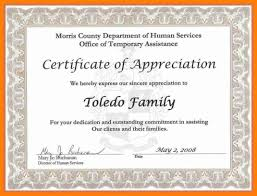 9 Volunteer Appreciation Certificates Proposal Sample