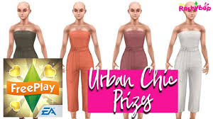 Fashion Design Hobby Sims Freeplay The Sims Freeplay Fashion Designer Hobby Event Urban Chic Prizes