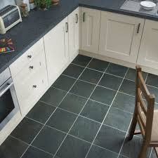 Slate Flooring Kitchen Stonetilecompany Grey Slate 300x300mm Cream Kitchen Floors Rescom