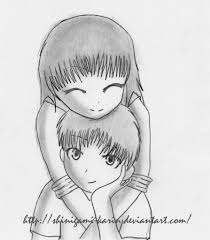 Draw Couples Easy Pencil Images Drawn K O P E L Easy Pencil And