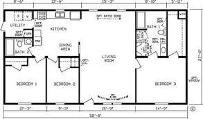 3 Bedroom Double Wide Mobile Home Floor Plans Savae Org