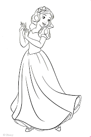 Snow White Coloring Pages Free Best Of - diaet.me