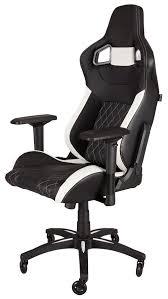 gaming chair. Corsair T1 Race Gaming Chair Black \u0026 White