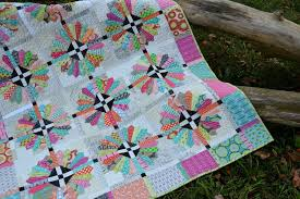 Quilters' Companion: Scrappy Dresden Quilt - Color Girl Quilts by ... & Sunday Best quilt pattern with dresden plate quilt block and Moda Fabrics  by Zen Chic Adamdwight.com